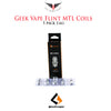 Geek Vape Flint MTL NS Coils • 5 pack