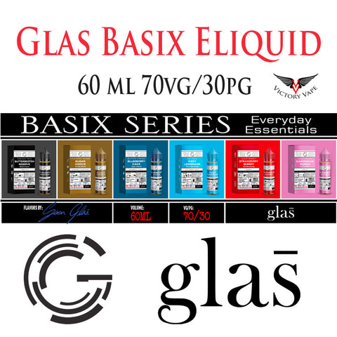 GLAS BASIX Eliquid  • 60ml 70VG/30PG