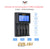 Golisi I4 Intelligent Battery Charger • 4 bay USB powered 2A