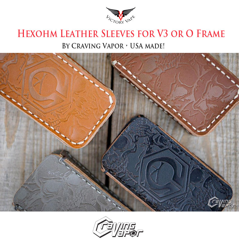 HexOhm 3.0 Leather Sleeve for 3.0 and O-Frame