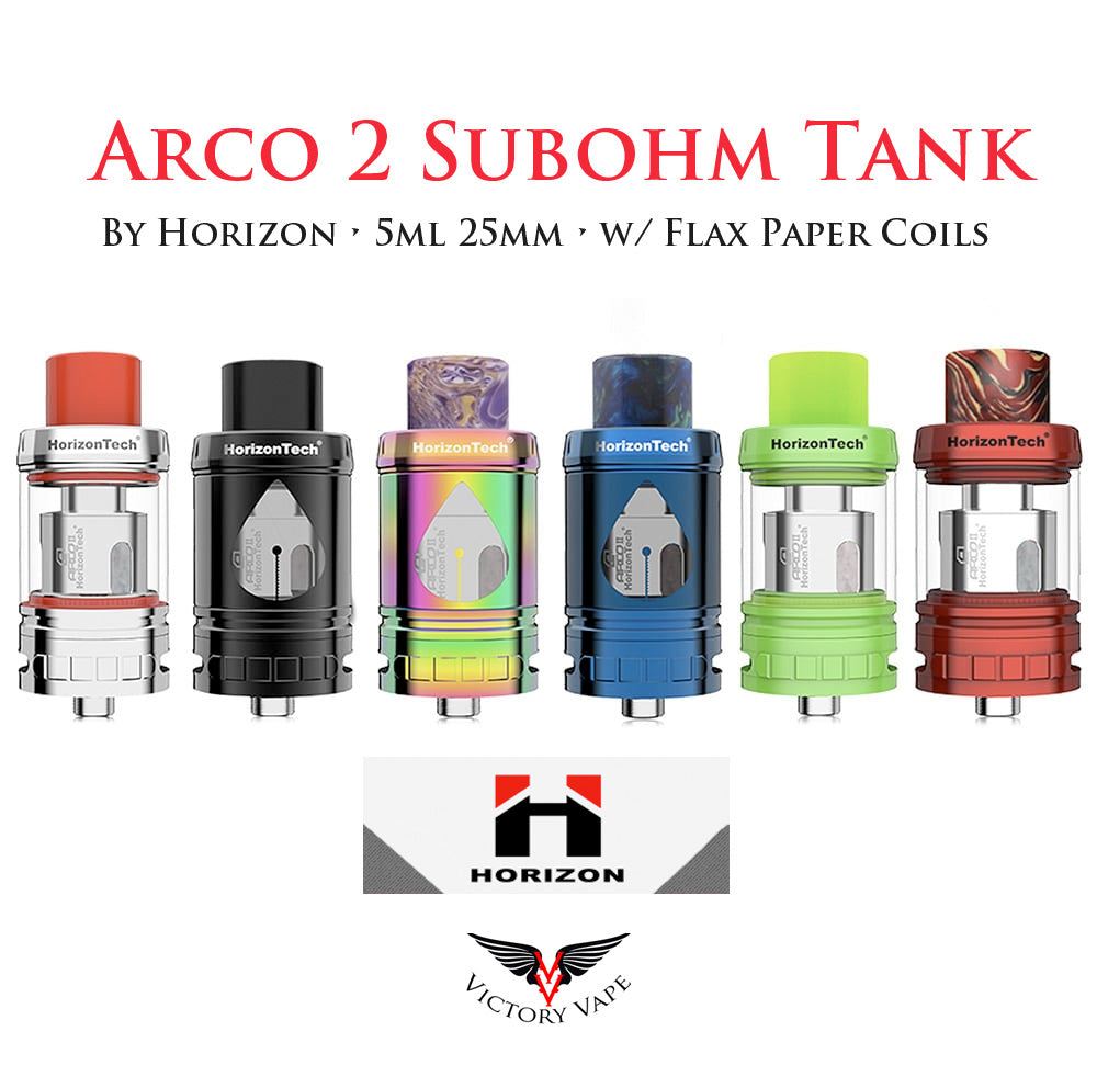 Horizon Arco 2 Subohm Tank • 5ml 25mm