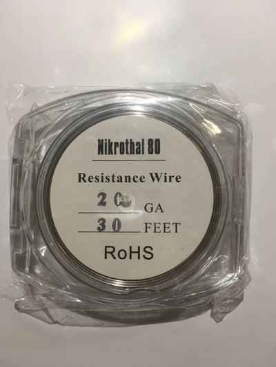NiCr Nichrome Nikrothal 80 Wire Spool 30ft