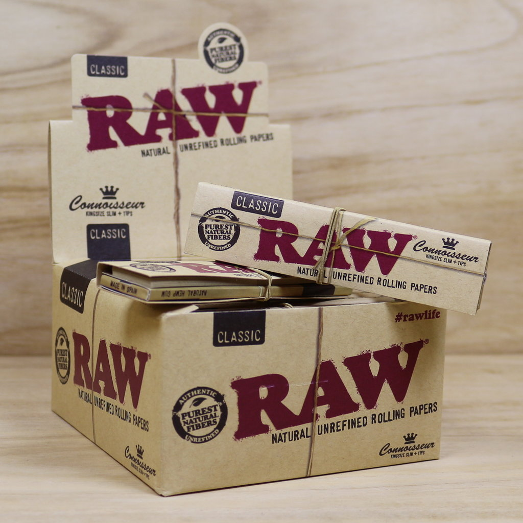 RAW CLASSIC KING SIZE PAPERS + TIPS