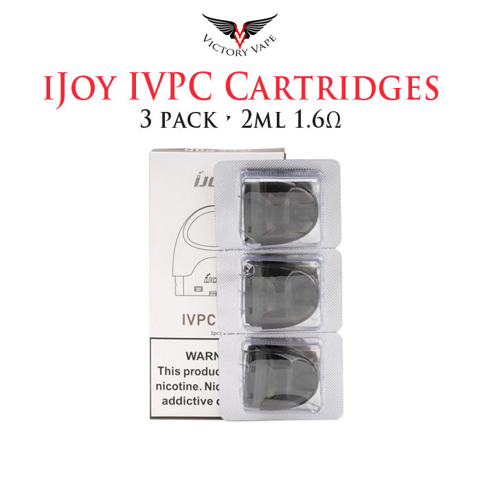 IJOY IVPC Replacement Pods • 3 pack 2ml 1.6Ω