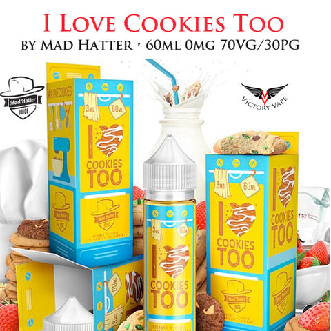 I Love Cookies Too • 60ml 0mg 70VG/30PG