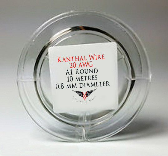 Kanthal Wire - Round 20 gauge A1 - 10 metre spool