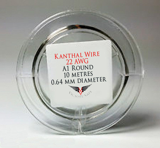 Kanthal Wire - Round 22 gauge A1 - 10 metre spool