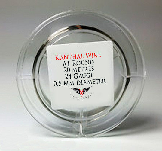 Kanthal Wire - Round 24 gauge A1 - 10 metres