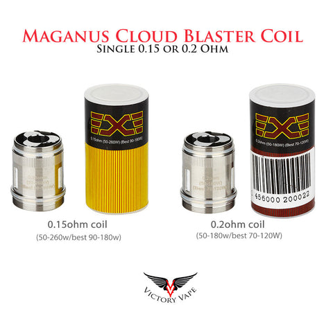 Maganus Cloud Blaster Coil • single