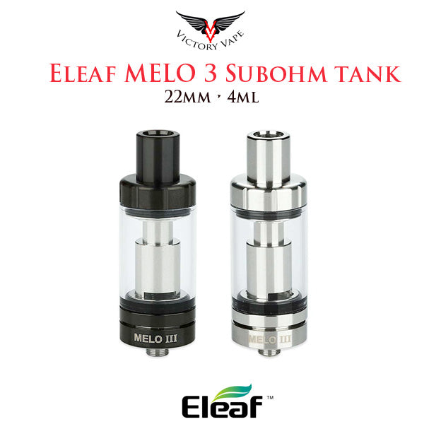 Eleaf Melo 3 Subohm Tank • 22mm 4ml