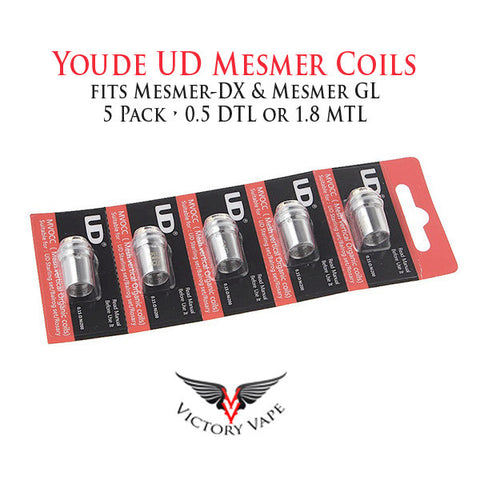 Youde UD Mesmer Coils • 5 pack