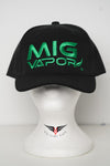 Hat • Mig Vapor • Green on Black
