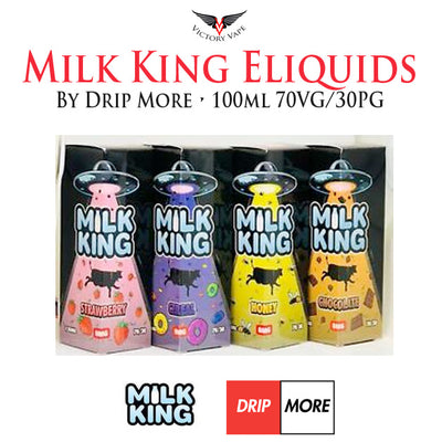 Milk King Eliquids by Drip More äó¢ 100ml