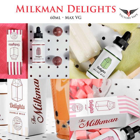The Milkman Delights  Eliquid • 60ml Max VG