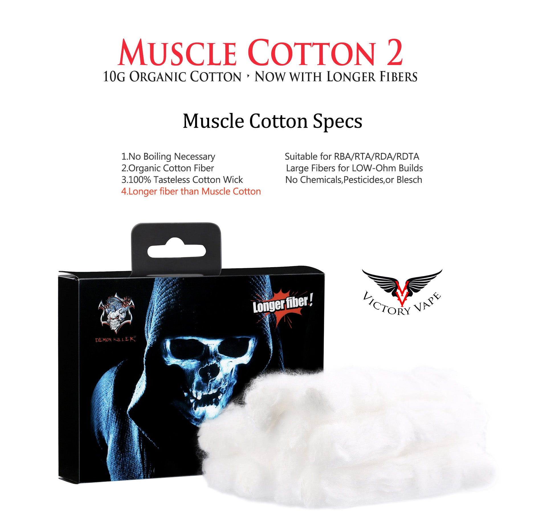 Demon Killer Muscle Cotton 2 • 10g pack