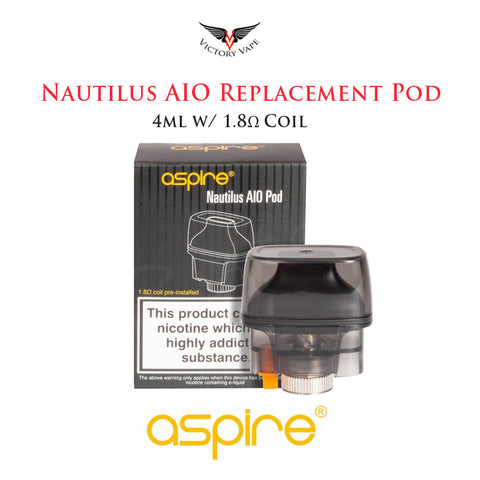 Aspire Nautilus AIO Replacement Pod • 4ml