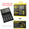 Nitecore D4 digital charger D4 charger battery charger