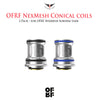 OFRF Conical nexMESH Tank Coils • 2 Pack