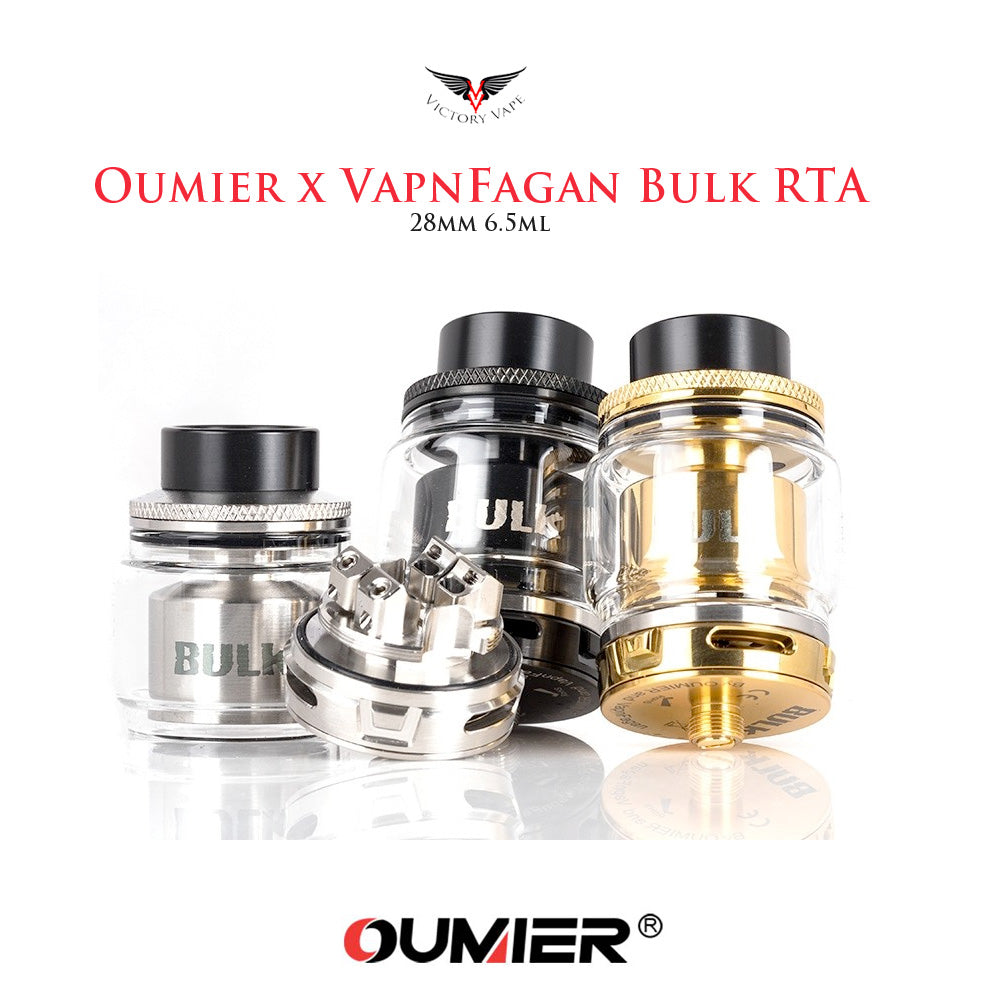 Oumier x VapnFagan RTA • 5.5ml 28mm