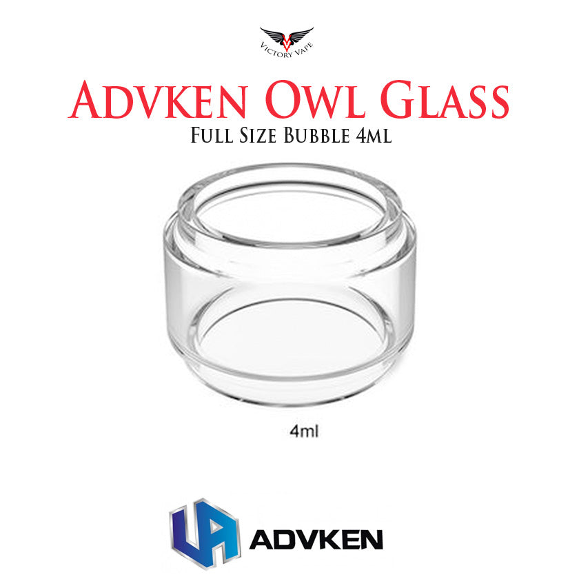 Advken OWL full size bubble glass • 4ml