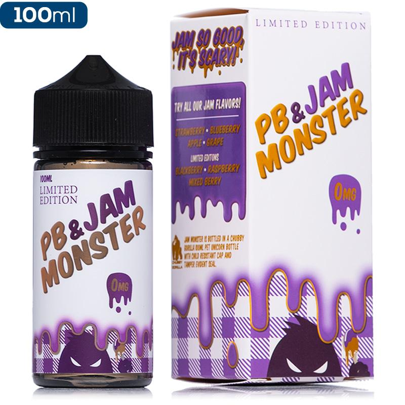 Jam Monster | Ice Monster | Fruit Monster Eliquid • 100ml 75VG/25PG