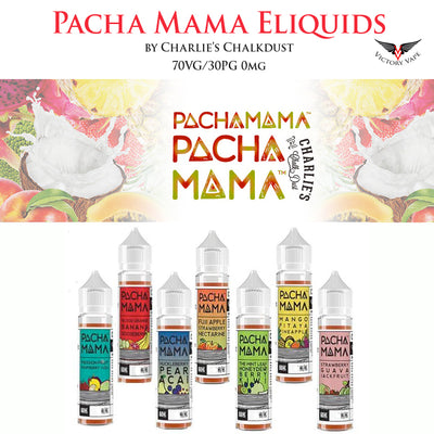 Pacha Mama Eliquid by Charlie's Chalkdust • 0mg • 70VG/30PG