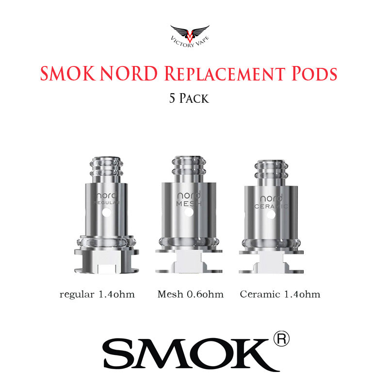 SMOK NORD Pod Coils • 5 Pack