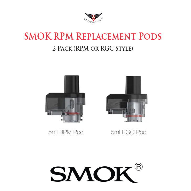 Smok RPM80 Empty Pod Cartridge • 5ml (3 pack)