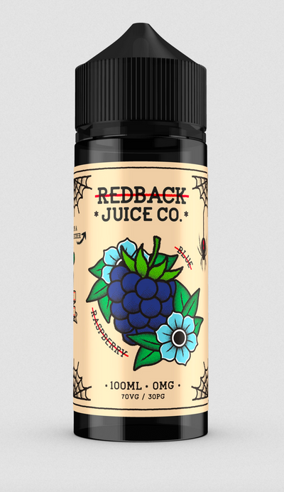 Redback Juice Co. • 100ml 70VG/30PG (Australia)