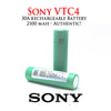 SONY VTC4 18650 Battery • 2100mAh