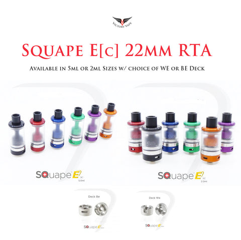 SQuape E[c] 22mm RTA • 100% Swiss Made