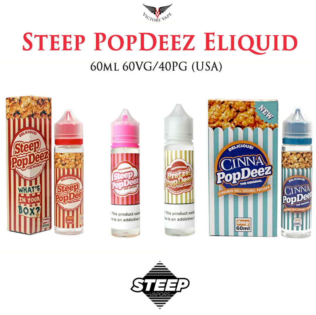Steep Pop Deez Eliquids • 60ml
