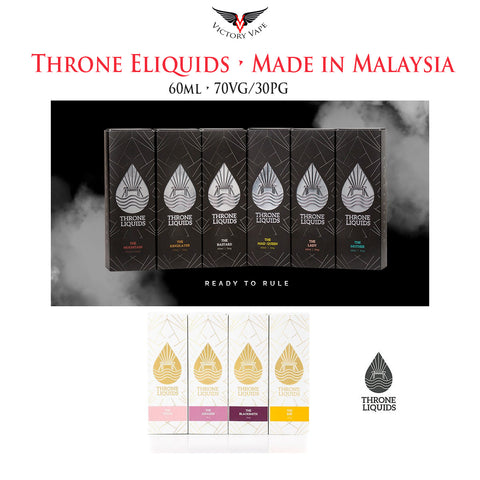 Throne Eliquids • (Malaysian) 60ml