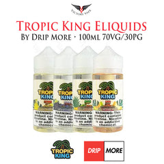 Tropic King Eliquids by Drip More • 100ml