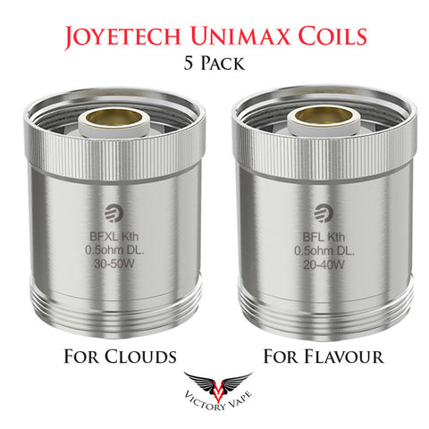 Joyetech Unimax Replacement Coils • 5 Pack