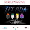 LIT RDA by Vandy Vape • 24mm w/BF Pin