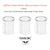 Smok TFV8 X-Baby Beast Replacement Glass • 3 pack