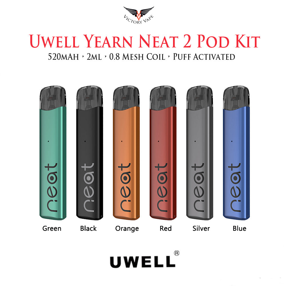 Uwell Yearn Neat 2 Pod Starter Kit • 520mAh 2ml