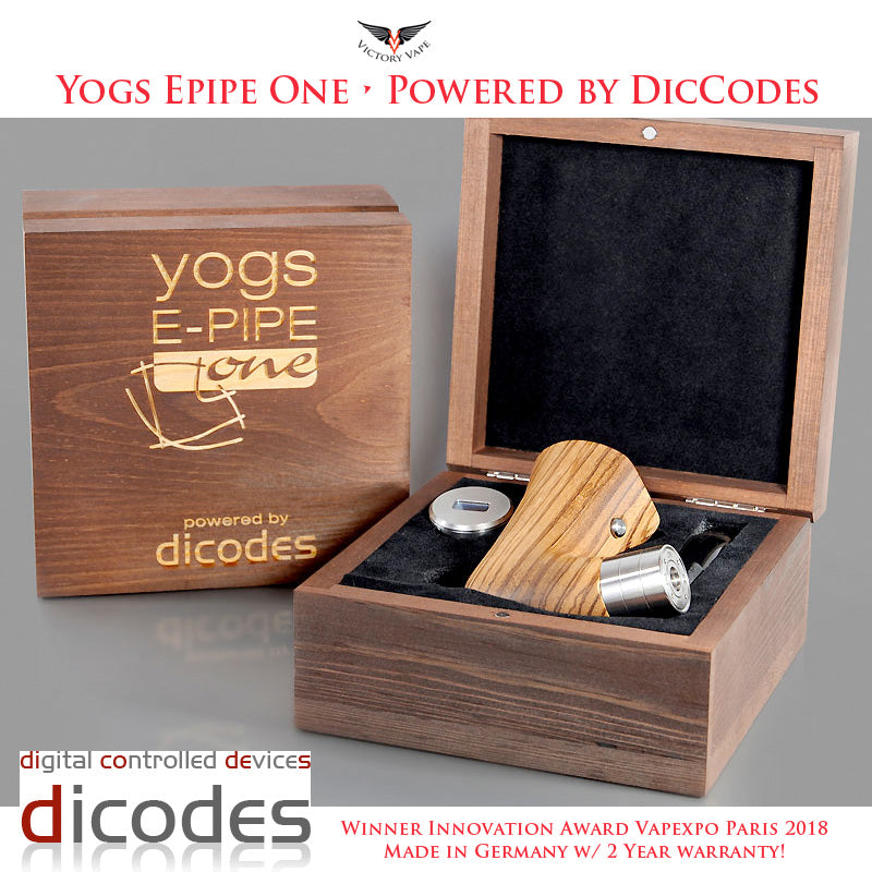 Yogs E-PIPE One • 60W vv/vw TC Mod • powered by dicodes (made in Germany)