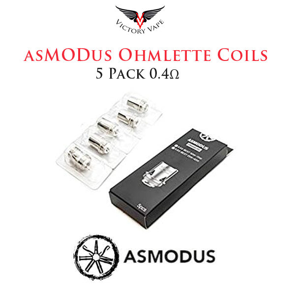 asMODus Ohmlette Replacement Coils • 5 Pack