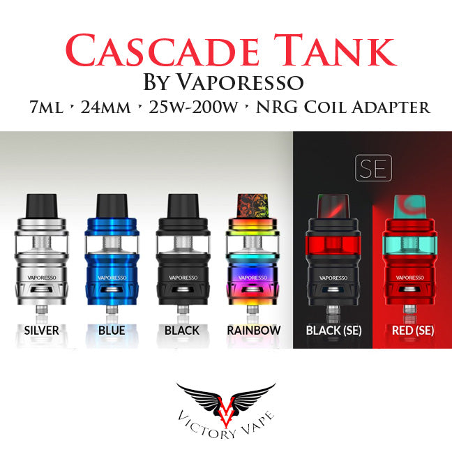 Vaporesso Cascade Tank • 25mm 7ml