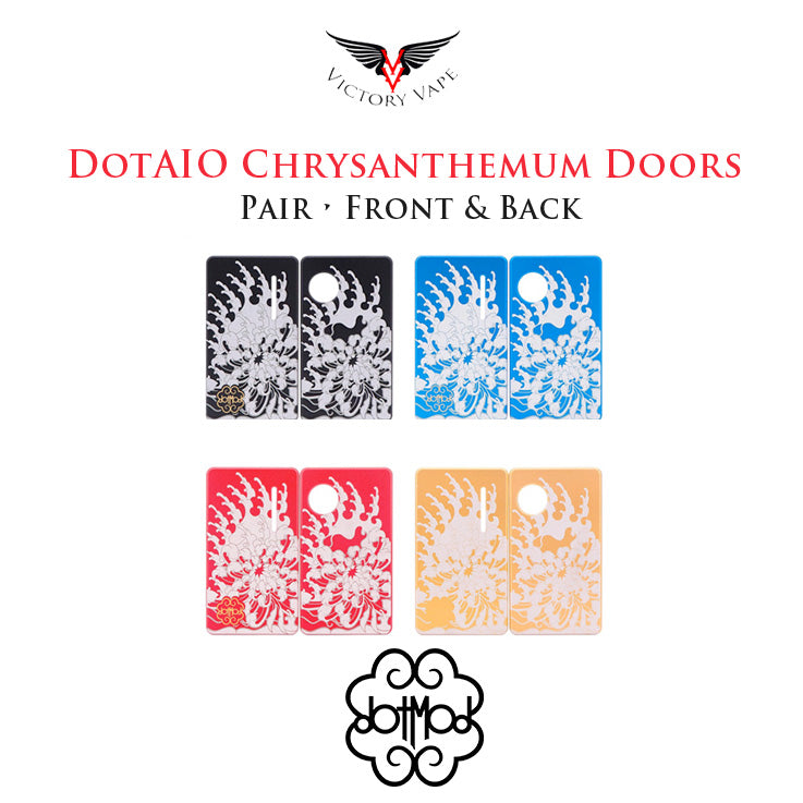 dotAIO Pod Chrysanthemum Doors • pair (front & back)