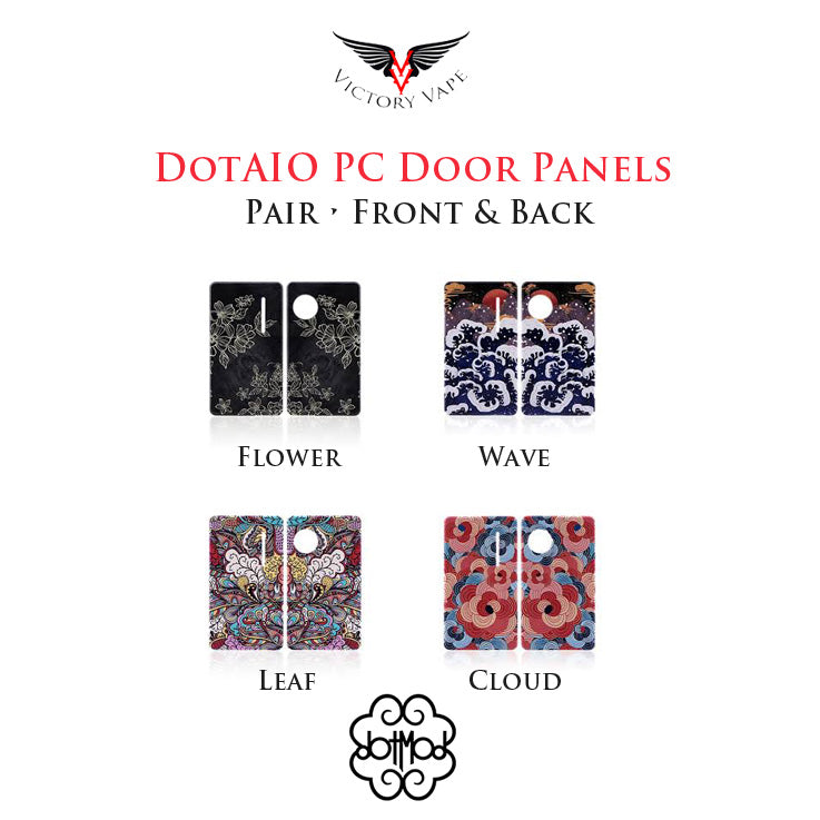 dotAIO painted ploycarbonate doors • pair