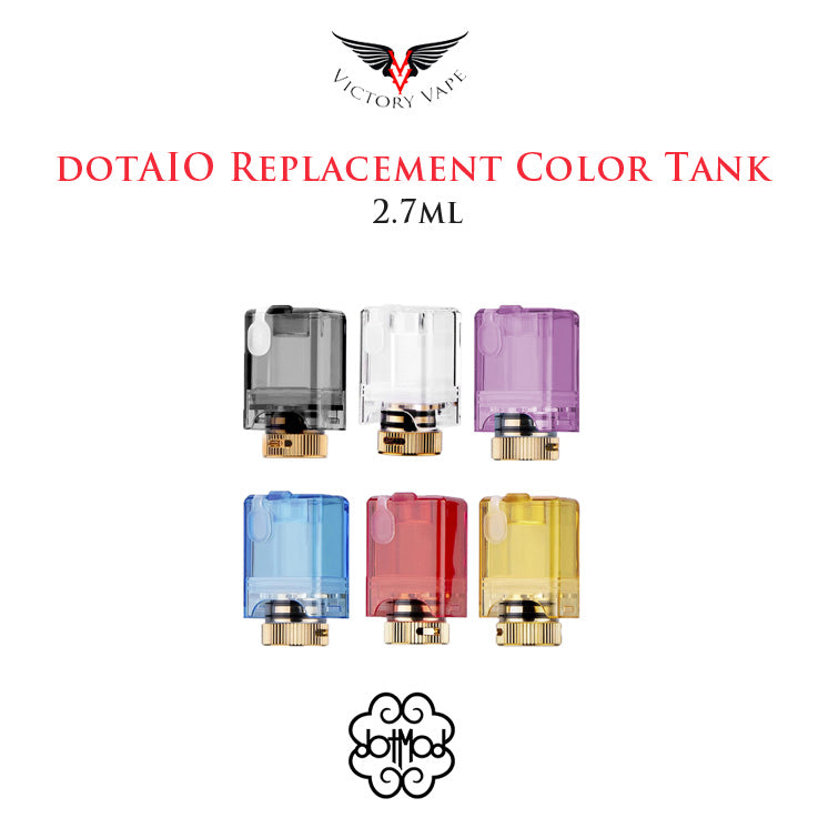 dotAIO Replacement Colour Pod Tank