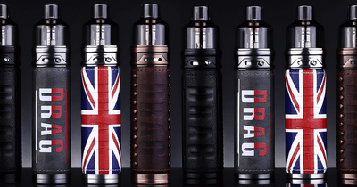 VooPoo DRAG X 80W Pod Mod Starter Kit • 4.5ml (requires 18650 battery)