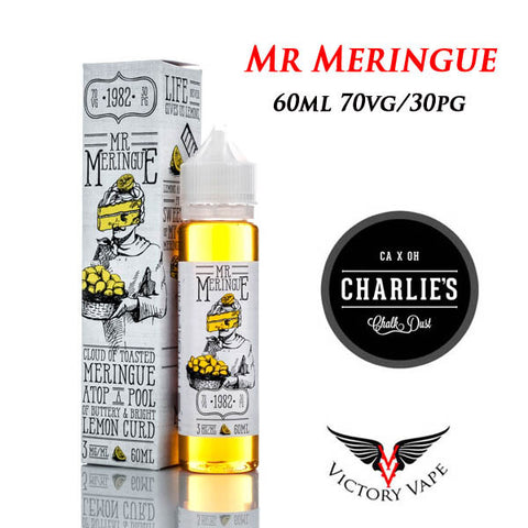 Mr Meringue • Lemon Curd Pie 60ML • 0mg