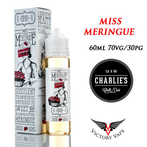 Ms Meringue • Strawberry Meringue 60ML • 0mg