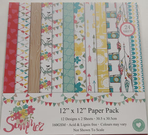 Paper Pack 12 X 12