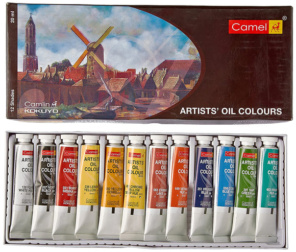 Camel Artists' Oil Colour