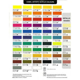 Camel Artist Acrylic Colors - 40 ml tubes